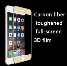 3D Curved Full Cover Tempered Glass Carbon Fiber Screen Protector 9H Anti Blue-ray for iPhone 6 6S 6PLUS 5.5
