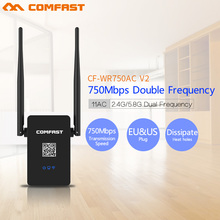 Buy Comfast Dual Band Repeater 750Mbps 11AC Mini WIFI Extender Router WiFi Roteador 2.4G/5GHZ Wireless Access Point MI AC Roteador for $21.88 in AliExpress store