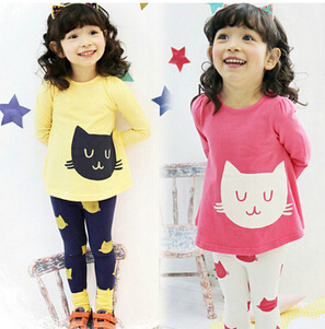 Where To Buy Cheap Cute Clothes For Girls Girls clothing sets cat cute