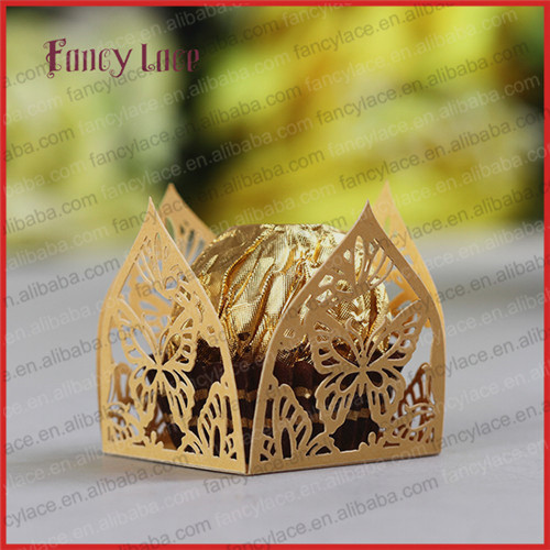 Chocolate Packaging Wrappers Birthday Gift,Paper Cutting Snowflake Wrapping Liners Wedding Table Decorations - Fancylace Paper Craft & Art Co., Ltd store