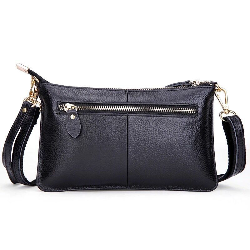 Women Clutch Bag Genuine Leather Evening Bags Candy Color Summer Crossbody Messenger Bag Female Shoulder Bags Envelope Handbags(China (Mainland))