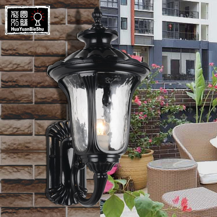 Outdoor wall lamp balcony multithread fashion vintage wall lamp waterproof outdoor led glass wall lamp<br><br>Aliexpress