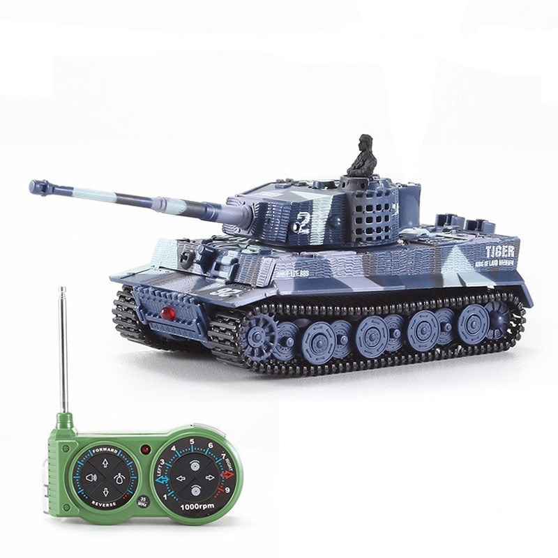brand new Great Wall RC Battle Tank 14CH 1:72 Scale Remote Control Simulated Panzer Tiger Mini Tank Children Toys Gift