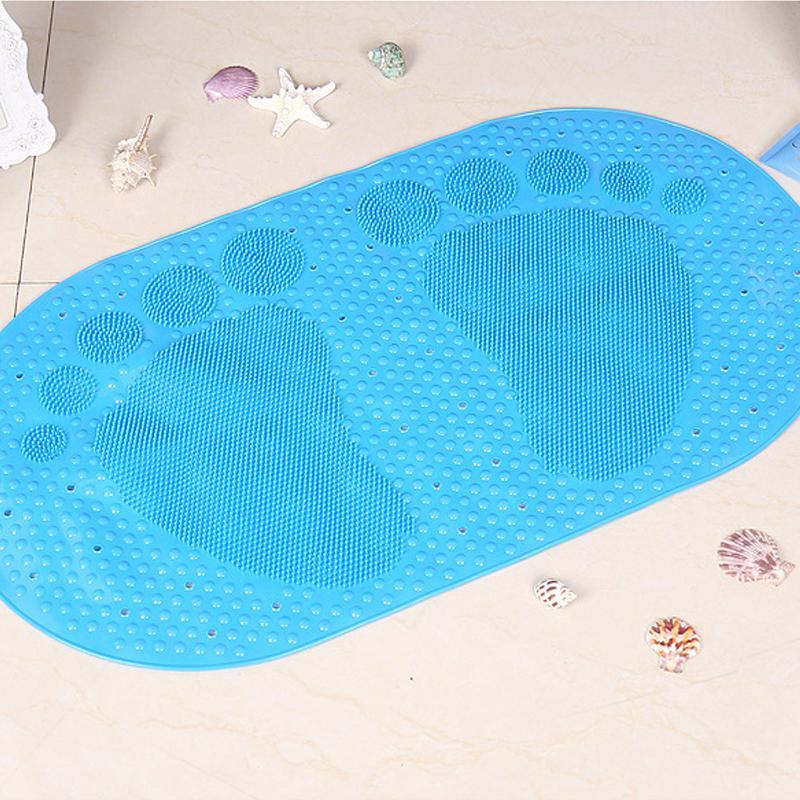 2018 Big Feet Plastic Shower Mat Bath Mats Non Slip Mats Anti Slip ...