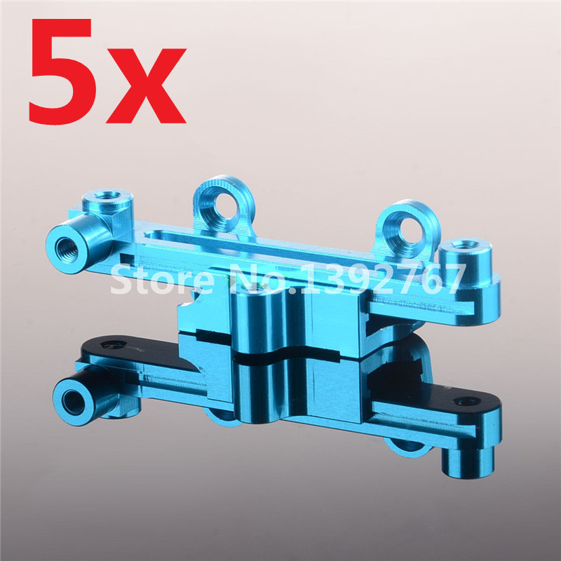 5Sets RC Car Alum.Steering Servo Saver Complete K949-006 For 1/10 Scale Models Remote Control WLtoys K949 CLIMBING Crawler Truck<br><br>Aliexpress
