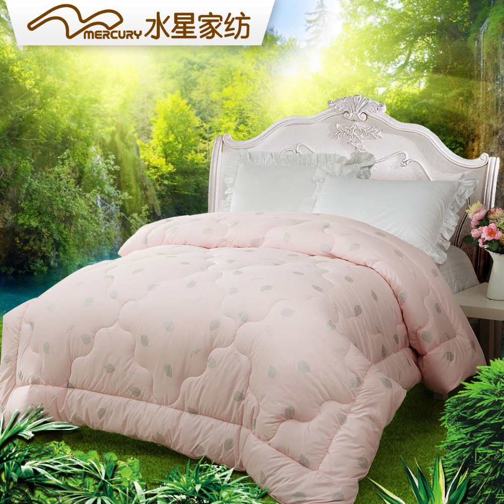 Free Shipping! Mercury home textile Queen Size 200*230 cm Lenzing Modal Thicken Comforter. Hot Sale!(China (Mainland))