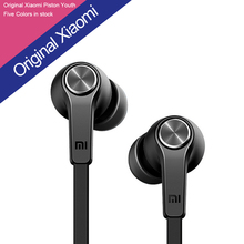5 Color Free Shipping Original Xiaomi Piston 3 2 Youth and Fashion Design In Ear Headphones Earphone Headset For Smartphone