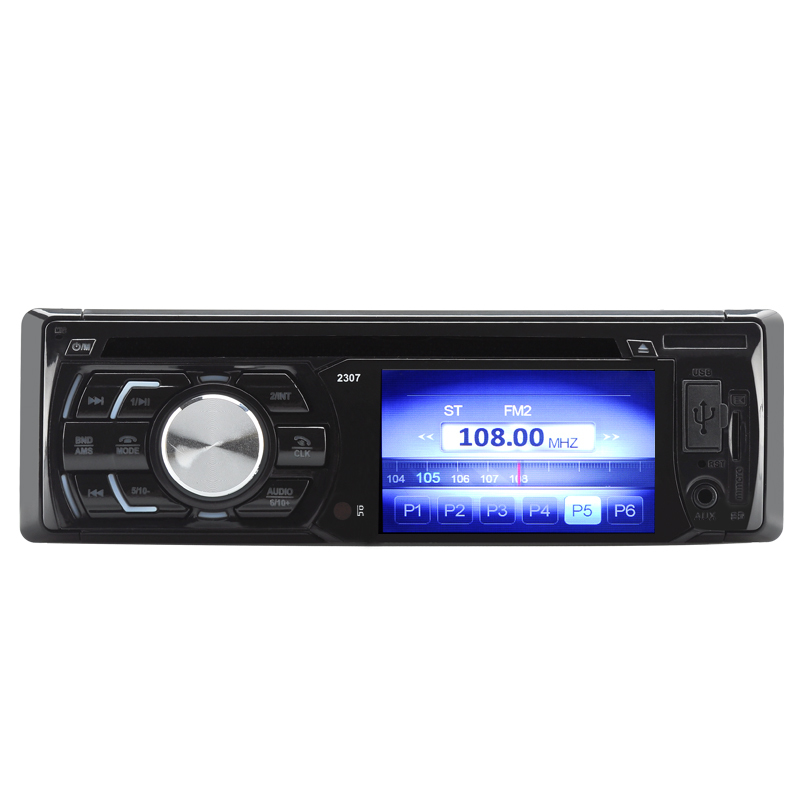 1 DIN 3 Inch TFT LCD Car DVD Player - 180Watt Output, Bluetooth, USB Port, SD Card Slot, Aux In cd(China (Mainland))