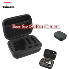 Factory price Small Carry Case Bag Box Protection for GoPro Camera for SJ4000 for SJ5000 Portable Protection Shockproof