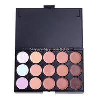 New Professional 15 Color Make Up Cream Camouflage Concealer Palette V3NF