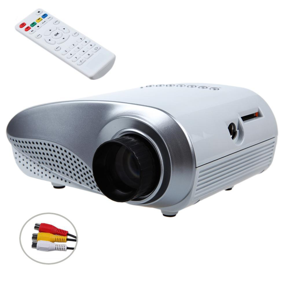 Rd802 home projectortheater 200lumens led lcd video game for Pocket pc projector