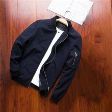 Mountainskin 2019 Mens Jackets Spring Autumn Casual Coats Bomber Jacket Slim Fashion Male Outwear Mens Brand Clothing 6XL SA585(China)