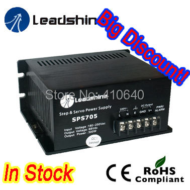 Leadshine SPS705-L Ultra Compact 68 VDC / 3.0A Unregulated Swithing Power Supply with 90-130 VAC Input(China (Mainland))