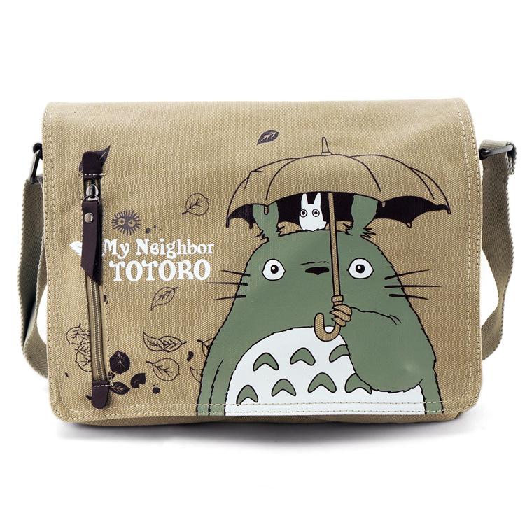 Women Messenger bags Totoro Canvas women bag men shoulder Crossbody Bags Fashion Ladies handbags school bags Anime bolsos mujer(China (Mainland))