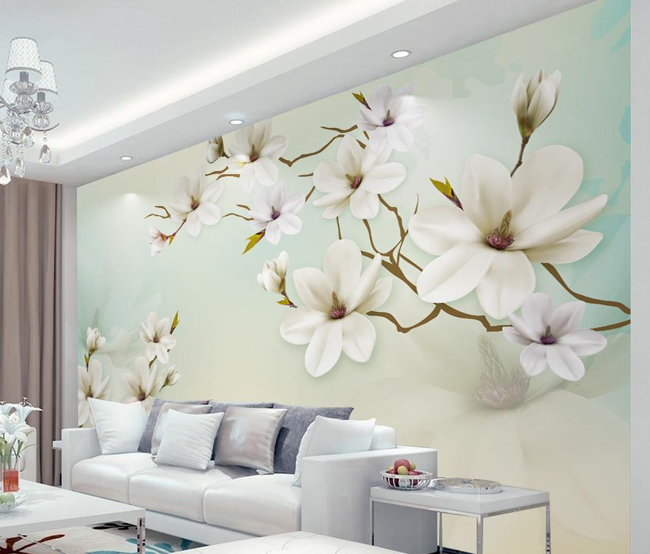 Online get cheap simple wall mural for Mural 3d simple