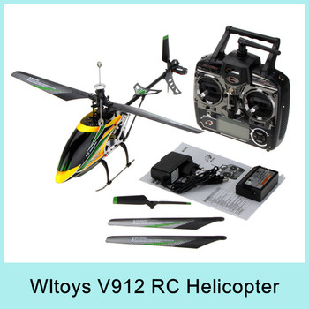 Wltoys V912 2.4GHz 4CH RC Helicopter V911 Upgrade Version Single Propeller Big 52cm Radio Control Single Screw Remote Control