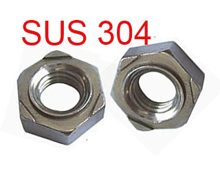 M6 Metric Hex weld nuts 304 stainless steel 200 pieces<br><br>Aliexpress
