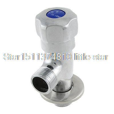 Chrome Finish Solid Brass 2-Way Angle Control Stop Valve Water Diverter(China (Mainland))