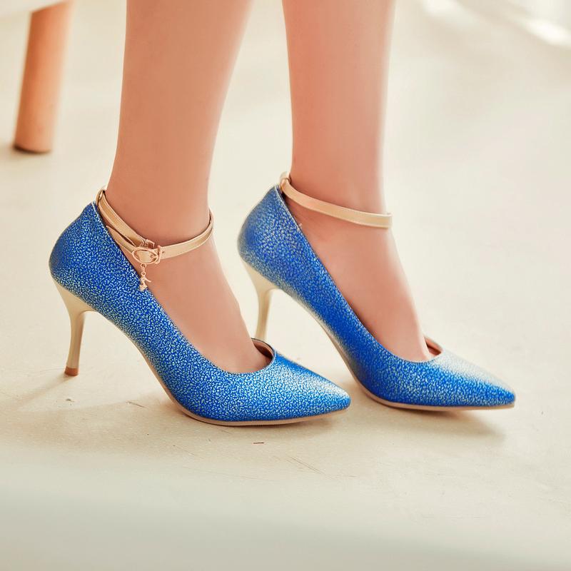 2015 fashion high heels pumps shoes chaussure