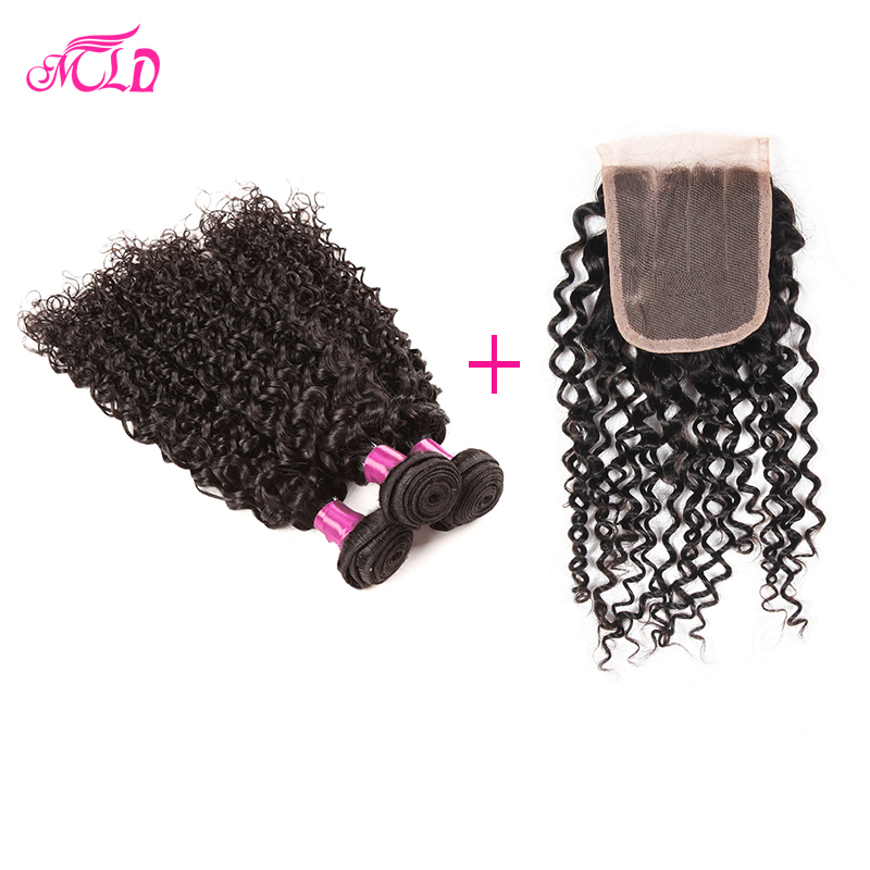 7a Brazilian Deep Curly Virgin Hair With Closure 1pcs Closure With 3pcs Brazilian Kinky Curly Brazillian Deep Wave With Closure<br><br>Aliexpress