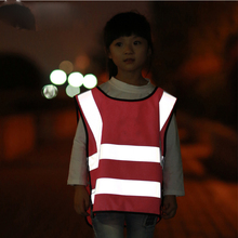 Children Kids Safety Vest Reflective Stripe Protective Clothing Car-styling()
