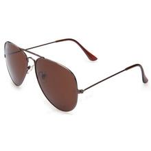 Sun gafas gafas De Sol accesorios De verano polarizaron las gafas De Sol protección UV400 Aviator marco De té lentes De colores 25 #16