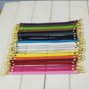1*13cmPU/Leather purse frame Coin Purse bag Handle Buckle Belt golden Hang buckle Bag Accessories 20pcs/lot HD010 Free Shipping(China (Mainland))