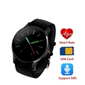 Round Bluetooth Smartwatch K88S Smart Watches Heart Rate Monitor Wristband for IOS Android Support SIRI SIM