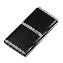 New brand Unisex genuine leather casual Wallets scratch resistant oxhide business purse Waterproof Cowhide long men