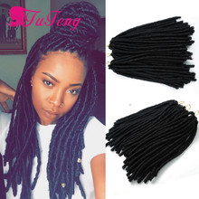 12 inch faux locs crochet hair havana mambo twist senegalese twist hair faux locs freetress synthetic hair extension very soft