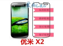 6x Clear Glossy LCD Screen Protector Guard Cover Film Shield For Umi X2