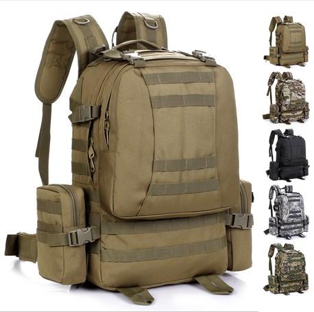 SWAT Tactical Molle Assault Backpack Bag Coyote khaki(China (Mainland))