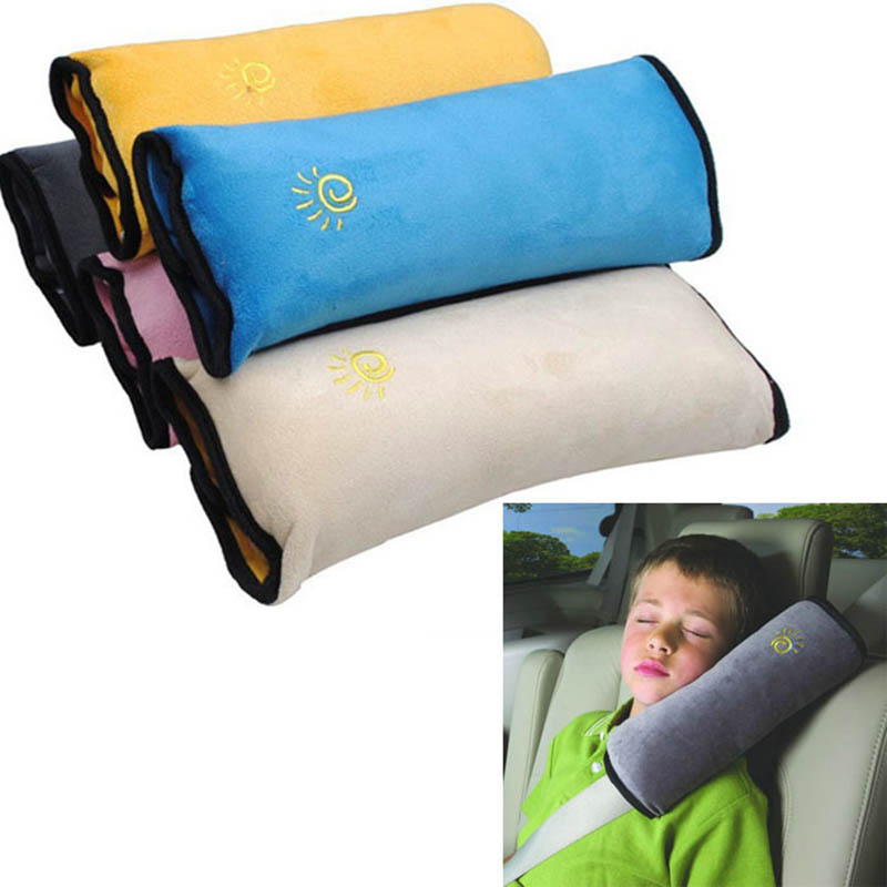 Baby Safety Baby Auto Pillow Car Shoulder Pad Safety Belt Protect Seat Cushion for Kids Baby Playpens(China (Mainland))