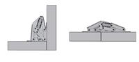 Оборудование nrh-8662 4 отверстие петли ось автоматическая Маджонг таблицы петля