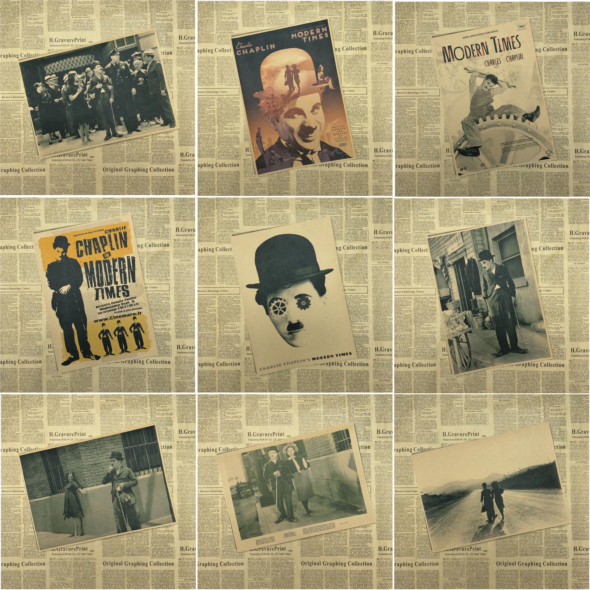 Chaplin Moderne Mal Werbeaktion-Shop für Werbeaktion ...