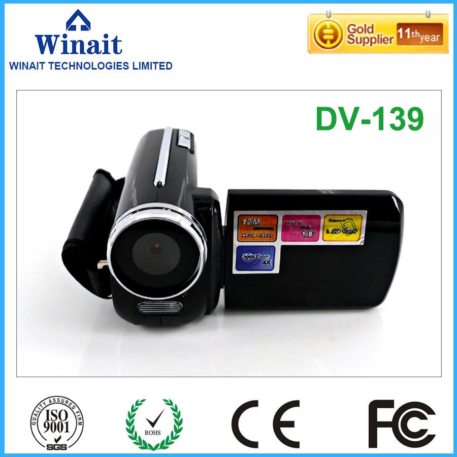 Free Ship 4 Colors Nice And Cheap Digital Video Camera 32GB Memory 1.8''Inch Max 12MP Mini Video Camera Digital Camcorder DV-139(China (Mainland))
