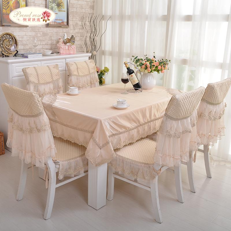 1 Piece European Style Ice Silk Satin Table Cloth/ High-grade Tea Table Cloth Chair Cover/ Modern Voile Lace Tablecloth(China (Mainland))