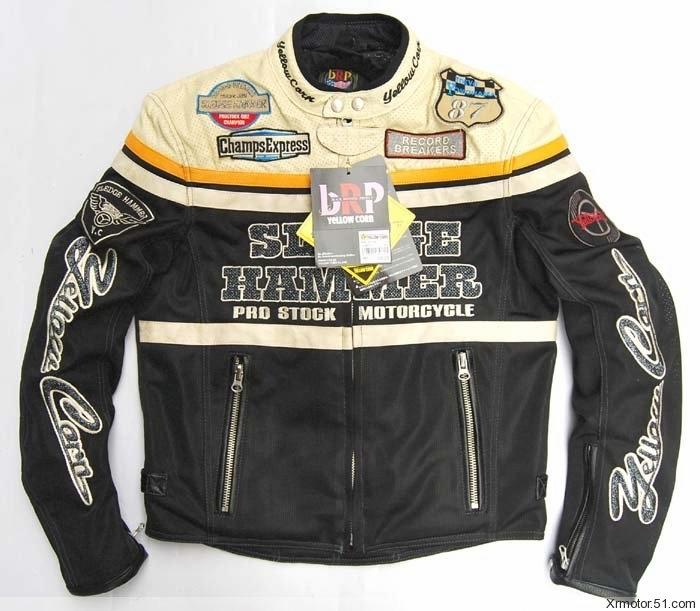 New arrival 2014 yellow corn bb-2104 mesh automobile race ride clothing motorcycle clothing motorcycle jacket racing jackets(China (Mainland))