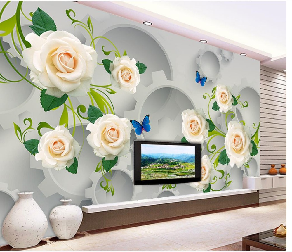 Online kopen Wholesale gear mural uit China gear mural Groothandel ...