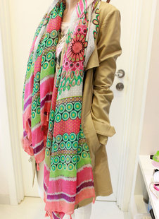 2016 весна национального типа богема кисточка подвеска хлопка и льна шарф платок женщин