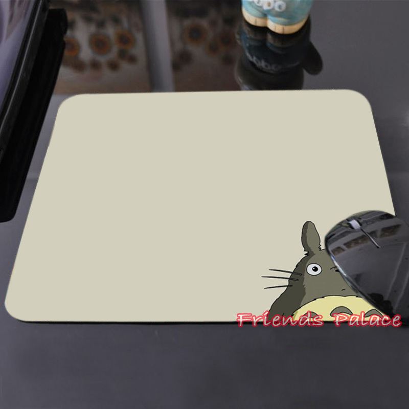 Good Quality Customized Mouse Pad My Neighbor Tonari no Totoro Touching Famous Cute Funny Computer Notebook Mice Mat(China (Mainland))