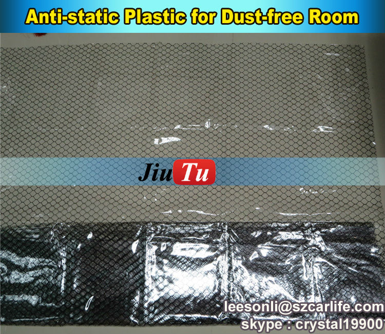Jiutu Brand Anti-dust PVC Plastic Anti Static Wall For Dust Free Room LCD Replacement Working Room(China (Mainland))