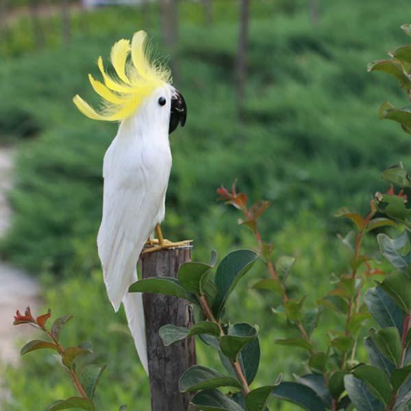 Artificial parrots home decoration phtogragh props for Artificial birds for decoration