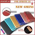 New For iPhone 6 mini Back Housing Metal Middle Frame Battery Cover For iPhone 5S like