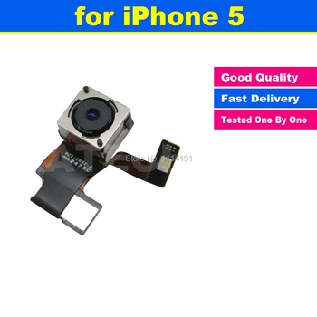FREE SHIPPING 8.0 MP Original for iPhone 5 5G Back Rear Camera Cam with Flash Replacement