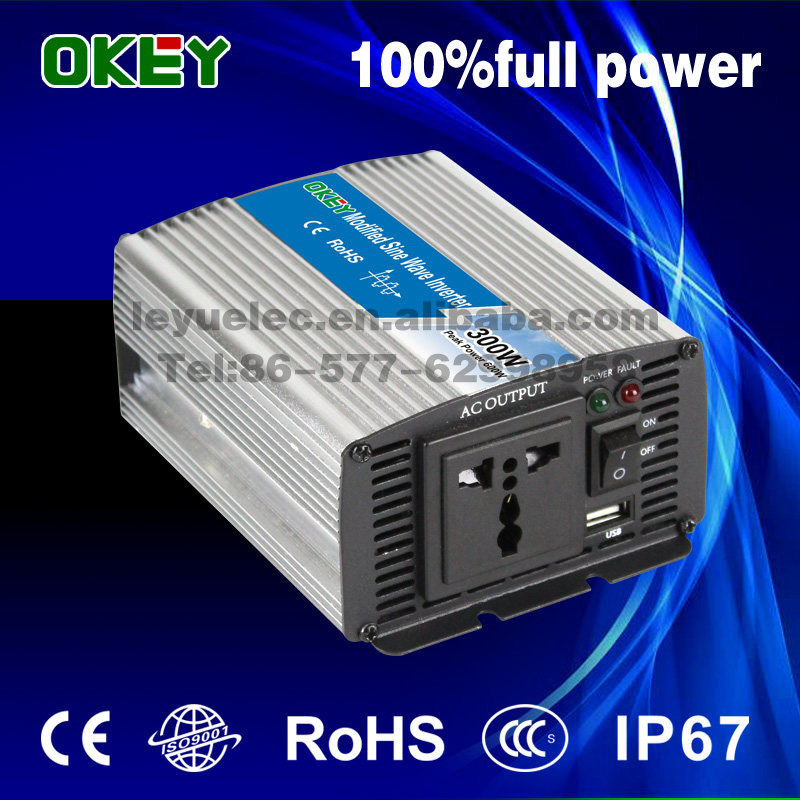 CE off gird low cost 300w 12V to 120V modified sine wave inverter compact volume inverter <br><br>Aliexpress