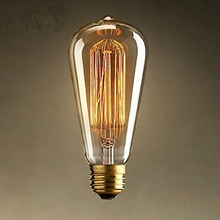 Lowest Price E27 25W Edison Light Bulb Incandescent Bulb ST64 Retro Edison Lights Pendant Decoration Bulb Led Filament Bulb 220V(China (Mainland))