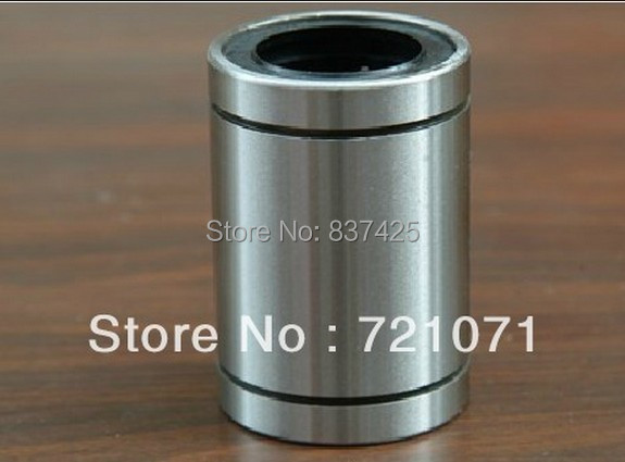 12pcs lot 3d printer LM16UU 16mm 16x28x37mm Linear Ball Bearing for 3d printer