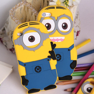 For ipod touch 4 &5 case Despicable Me minion cases covers for ipod touch 4g & 5G(China (Mainland))