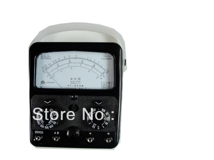 mf500 Analog Multimeter volt ampere ohm meter 2500v 20hm 500ma<br><br>Aliexpress
